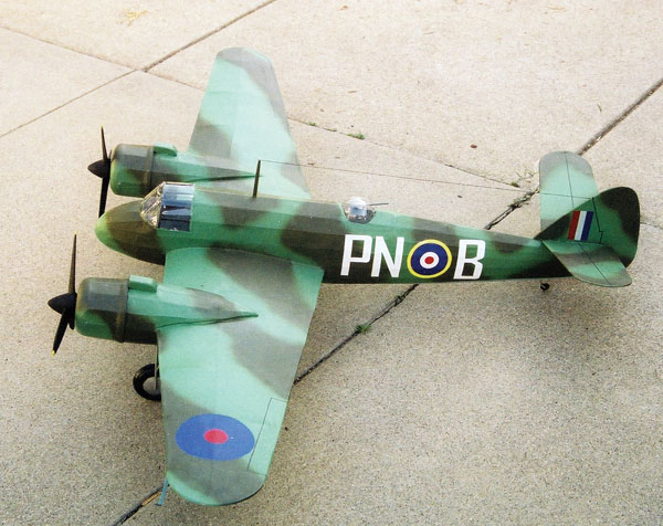 kit D-08 Bristol Beaufighter