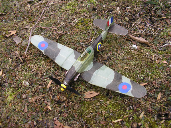 kit EB02 Hawker Hurricane