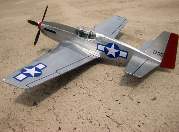 kit EB03 North American P-51B Mustang