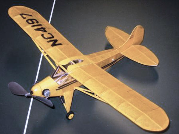Easy Built Models Free Flight Rubber Powered Airplanes