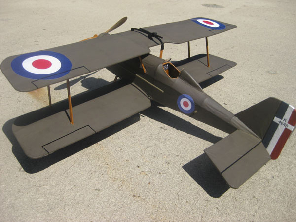 kit FF63 Royal Aircraft Factory SE5