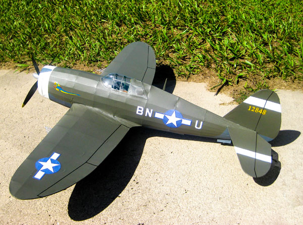 kit FF71 Republic P-47 Thunderbolt Razor