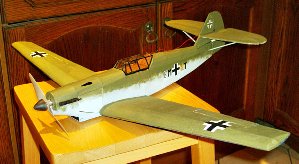 Easy Built Models Messerschmitt Bf 109 30 Quot