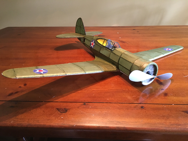 kit FF89 Curtiss P-36 Hawk 75A