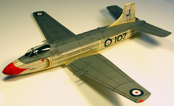 kit JX-07 Supermarine Attacker