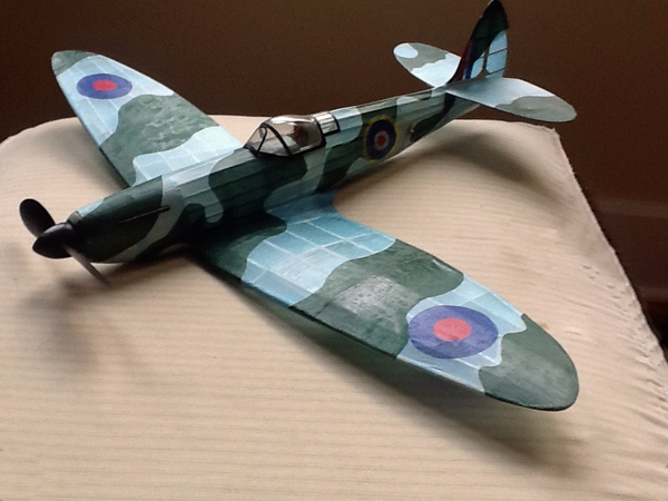 kit LC101 Supermarine Spitfire (Laser Cut)