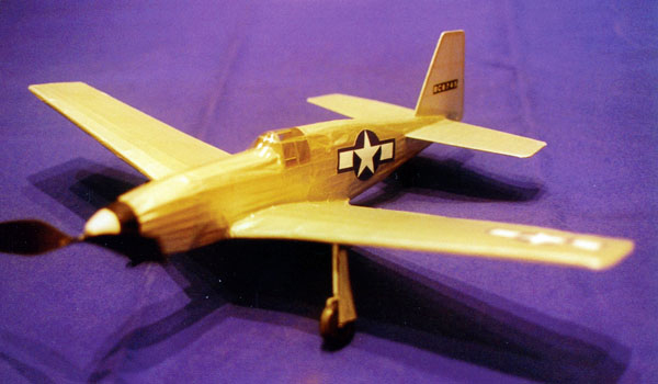 kit LC02 North American P-51 Mustang (LASER CUT)