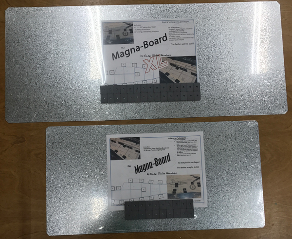 Easy Built Models Magna Board And Magna Board Xl