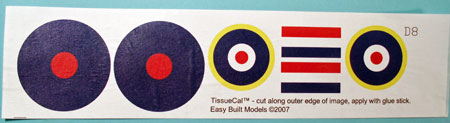Bristol Beaufighter TissueCal™ markings