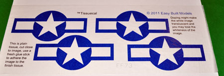 TissueCal markings for kit FF73 Grumman Hellcat