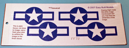 markings for kit FF72 Curtiss Helldiver