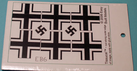 markings for kit EB06 Messerschmitt Bf 109