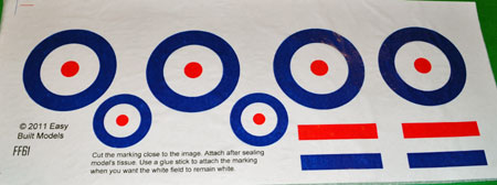 markings for kit FF61 Tiger Moth