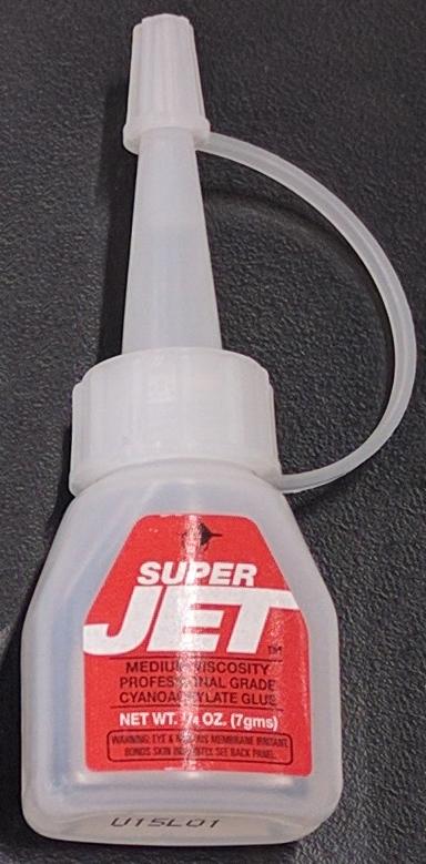 Jet SUPER Cyanoacrylate Glue