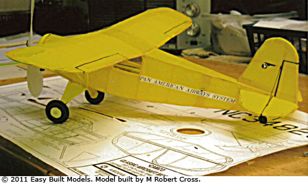 kit CA01 Rearwin Cloudster Instrument Trainer - FAC Dime Scale