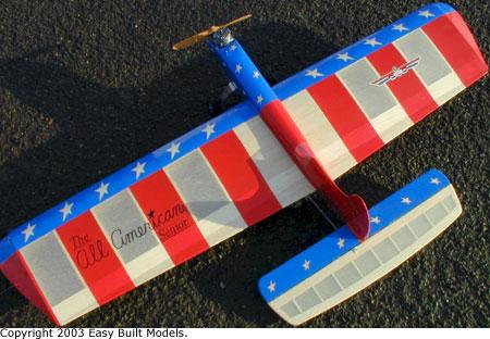 Easy Built Models Cl 01 Hal Debolt All American Senior