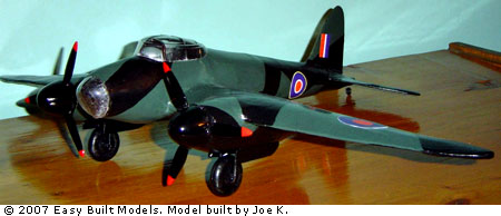 Easy Built Models De Havilland Mosquito Bomber