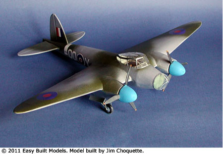 Easy Built Models De Havilland Mosquito Bomber