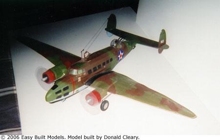 Easy Built Models Lockheed Hudson Bomber