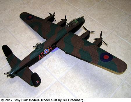 Easy Built Models Avro Lancaster Bomber