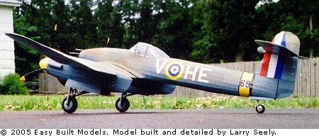 Easy Built Models Westland Whirlwind