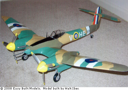 Easy Built Models Westland Whirlwind