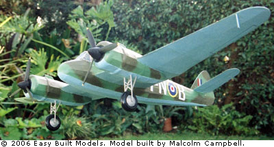 kit D08 Bristol Beaufighter