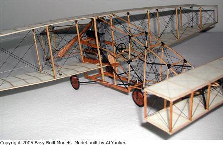 Easy Built Models Aerial Experiment Association Silver Dart