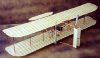D-10LC Wright Flyer 1 (LASER CUT)
