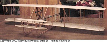 kit D10LC Wright Flyer I (Laser Cut)