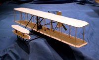 D-10LC Laser Cut Wright Flyer 1