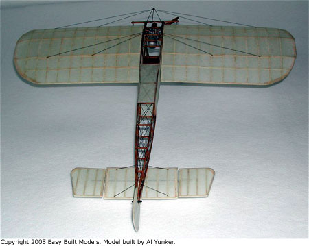Easy Built Models Bleriot Xi Laser Cut