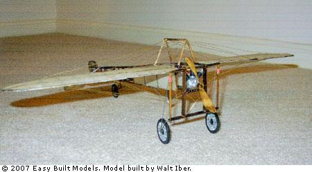 Easy Built Models Bleriot Xi Laser Cut
