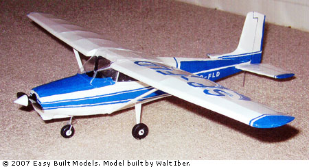 Easy Built Models - Cessna 172