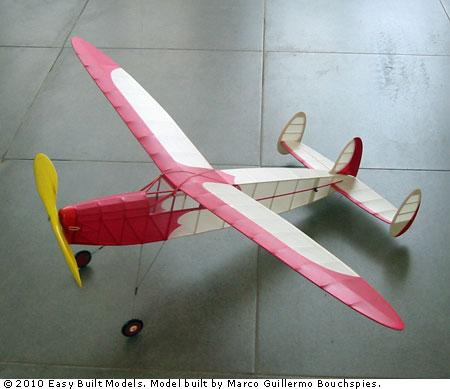 Easy Built Models Phantom 40 Quot Laser Cut