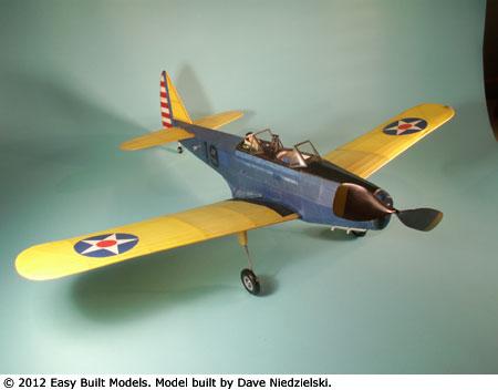 Easy Built Models Fairchild Pt 19 Laser Cut