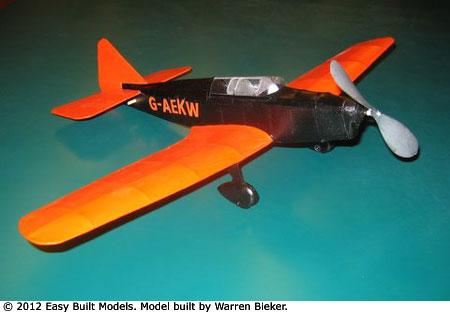 Easy Built Models Miles Mohawk 20 Quot