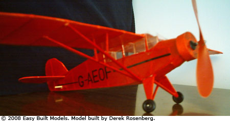 Easy Built Models Rearwin Sportster