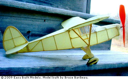 Easy Built Models Piper Cub