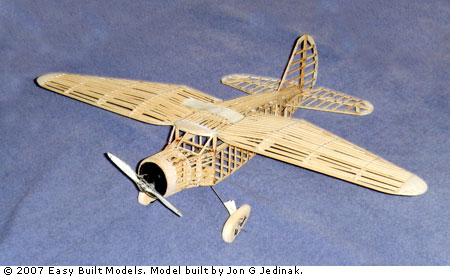 Easy Built Models Stinson Reliant 18 Quot