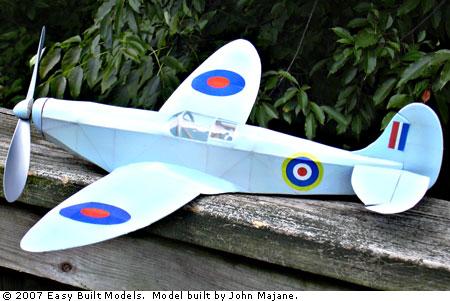 Easy Built Models Supermarine Spitfire Mk 1 24 Quot