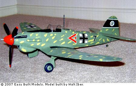Easy Built Models Heinkel He 112