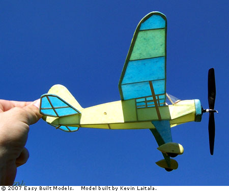 kit LC35 Stinson Reliant (Laser Cut)