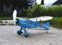 FF-41 WACO Model C - FAC Dime Scale