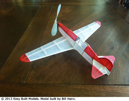Easy Built Models Percival Mew Gull Fac Dime Scale