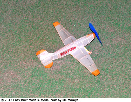 kit FF46 Red Flash Race Plane - FAC Dime Scale