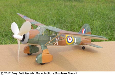 Easy Built Models Westland Lysander 15 Quot Fac Dime Scale
