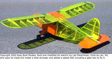 Easy Built Models Stinson Voyager 50 Quot