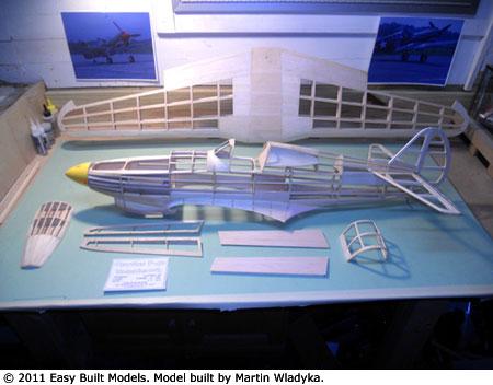 Easy Built Models Curtiss Tomahawk P 40 50 Quot
