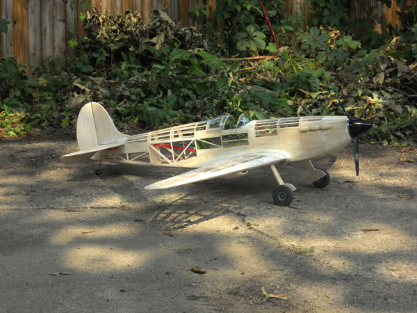 "50"" P40 Tomahawk Electric R/C Conversion"